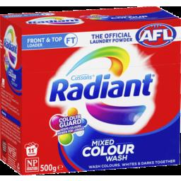 Photo of Radiant Mixed Colour Wash Laundry Powder 500gm
