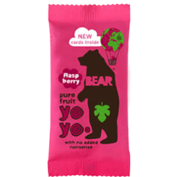 Photo of Bear Nibbles Raspberry Fruit Roll 20g