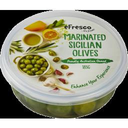 Photo of E/Fresco Sicilian Olives 185g