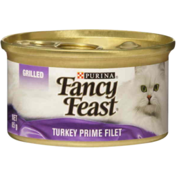Photo of Fancy Feast Grilled Turkey Prime Filet 85g