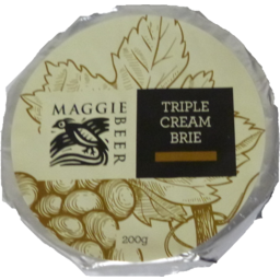 Photo of Maggie Beer Cheese Brie Triple Cream 200gm