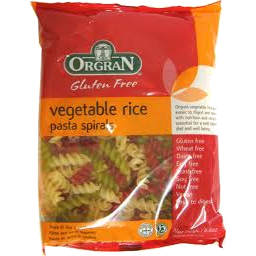 Photo of Orgran Rice/Veg Spirals 250g