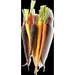 Photo of Carrots Rainbow Bunch Ea