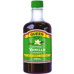 Photo of Queen Natural Essence Vanilla 200ml