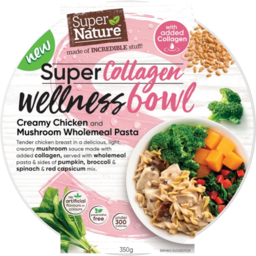 Photo of Super Nature Colagen Chicken Mushroom Pasta 350g