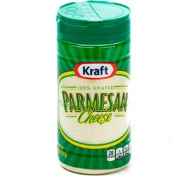 Photo of Kraft Parmesan Cheese Grated