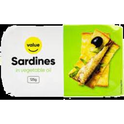Photo of Value Sardines Vegetable Oil 125g