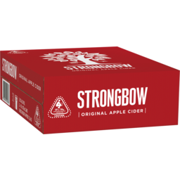 Photo of Strongbow Classic Apple Cider Can 375ml 3x10 Pack