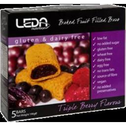 Photo of Leda Triple Berry Gluten Free 5pk 190g