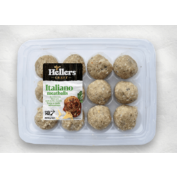 Photo of Hellers Meatballs Italiano 12 Pack
