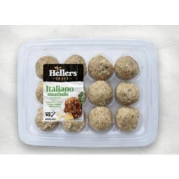 Photo of Hellers Meatballs Italiano 400g