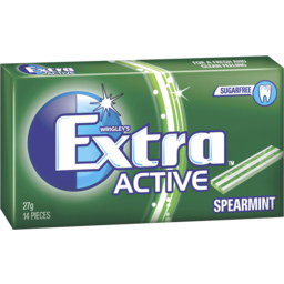 Photo of Extra Active Spearmint Gum