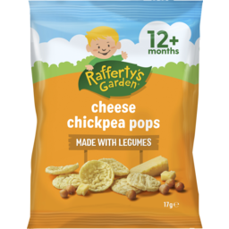 Photo of Rafferty's Garden Cheese Chickpea Pops 17g