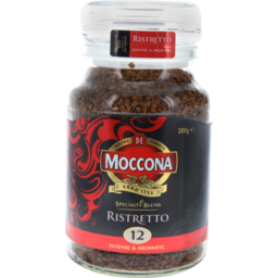 Photo of Moccona Coffee Freeze Dried Ristretto Jar 200g