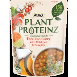 Photo of Heinz Plant Proteinz Thai Red Curry Chickpea Pumpkin 330g