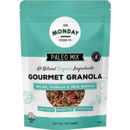 Photo of The Monday Food Co - Muesli - Paleo Granola Pecan, Vanilla, Inca - 300g