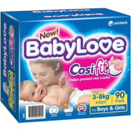 Photo of BABYLOVE NAPPY COSFIT JUMBO INFANT 90