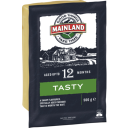 Photo of Mainland Cheese Tasty Cheddar (500g)
