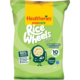 Photo of Healtheries Kidscare Rice Wheel Sour Cream & Chives 10 Pack