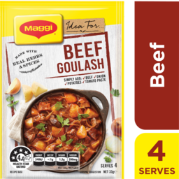 Photo of Maggi Recipe Mix Beef Goulash 33g