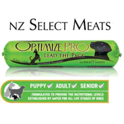 Photo of Optimize Pro Dog Roll Select Meats 2.6kg