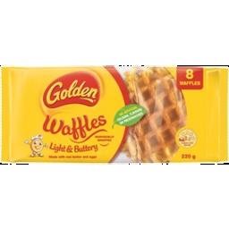 Photo of Golden Waffles Light & Buttery