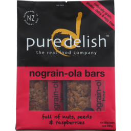Photo of Pure Delish Bar No Grain Ola 4 Pack