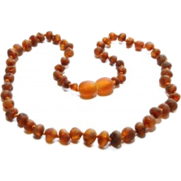 Photo of Amberbebe Child Amber Necklace Cognac
