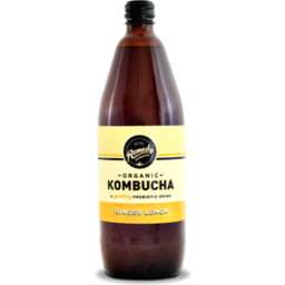 Photo of Remedy Kombucha Ginger Lemon 1.25L Pet Bottle
