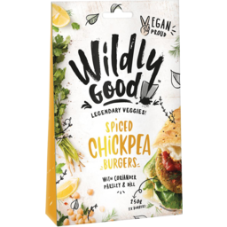 Photo of Wildly good Burgers Spiced Chickpea 250gm