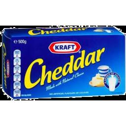 Photo of Kraft Cheddar Block 500gm
