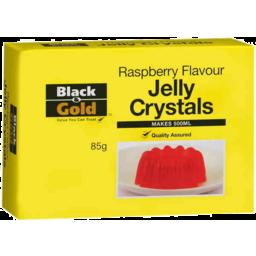 Photo of Black & Gold Jelly Raspberry 85gm