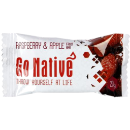 Photo of Go Native Raspberry & Apple Bar 20g