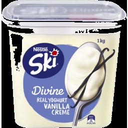 Photo of Ski Divine Yoghurt Vanilla Creme 1kg