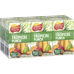 Photo of Golden Circle Tropical Punch Fruit Drink With Vitamin C 6ml