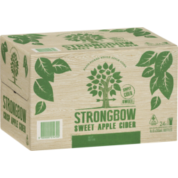 Photo of Strongbow Sweet Apple Cider 4x6 X 355ml Bottles