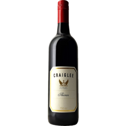 Photo of Craiglee Shiraz 750ml