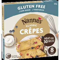Photo of Nanna's Classic Crepes 8x400g