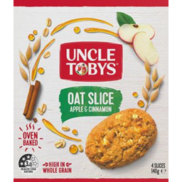 Photo of Uncle Tobys Apple/Cinn Oat Slice 4x140g