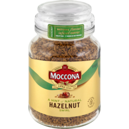 Photo of Moccona Hazelnut Flavour Infused Freeze Dried Coffee 95g