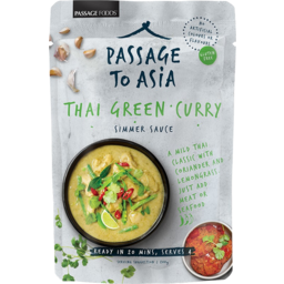Photo of Passage To Asia Thai Green Curry Simmer Sauce 200g