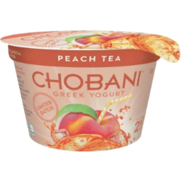 Photo of Chobani Yogurt Peach Tea 170g