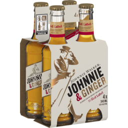 Photo of Johnnie Walker & Ginger Stubbies