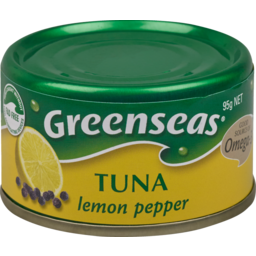 Photo of Greenseas Canned Seafood Tuna Lemon Pepper 95g