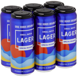 Photo of Gage Roads Small Batch Lager Cans
