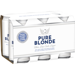 Photo of Pure Blonde Ultra Low Carb Cans