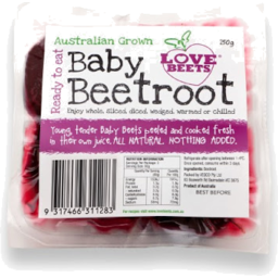 Photo of Beetroot Baby Peeled Packet