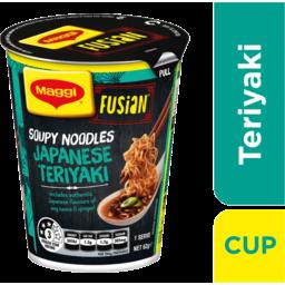 Photo of Maggi Fusian Soupy Noodles Japanese Teryaki 62g