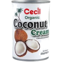 Photo of Cecil Organic Coconut Cream 400ml