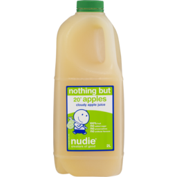 Photo of Nudie Nothing But Cloudy Apple Juice 2l